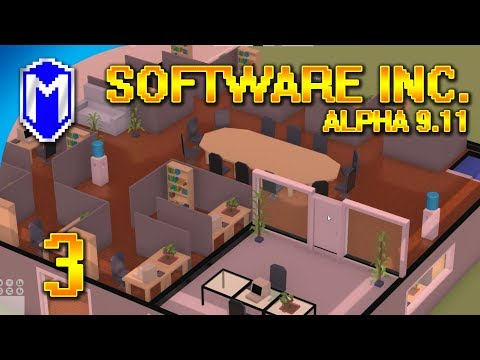 Software Inc - Building Our Software Development Studio - Let's Play Software Inc Gameplay Ep 3