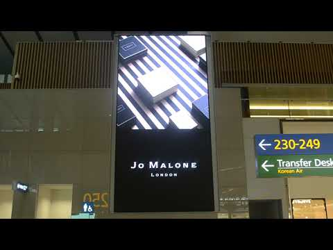 Seoul Incheon airport Advertising 인천공항 광고