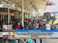 Mga uuwi sa probinsya, dagsa sa bus terminal, kahit kinansela na ang ilang biyahe dahil sa bagyo