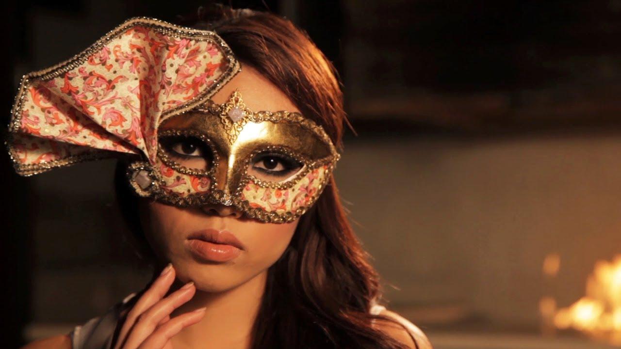 Venetian Mask Eye Makeup Tutorial Youtube