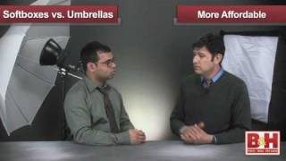 Softboxes vs Umbrellas for Portraits