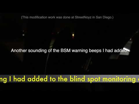 Audible warning (beeping) added to Blind Spot Monitors on Prius Prime 2017