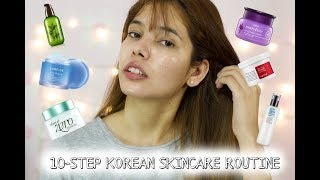 10-Step Korean Skincare Routine | Nighttime