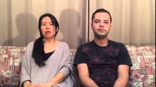 When a Japanese girl singing a Persian song