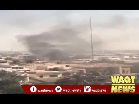 Blast and shots heard near Chinese consulate in Pakistani city of Karachi