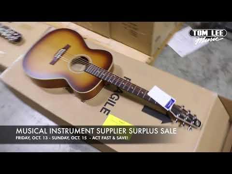 Tom Lee Music Supplier Surplus Sale 2017 - Amps, Acoustic & Electric Guitar