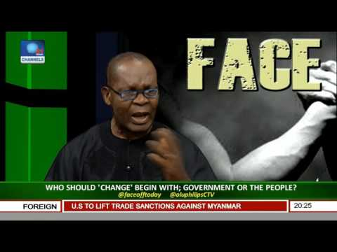Who Should 'Change' Begin With: Government Or The People? Pt 1