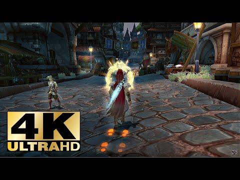 Allods Online Graphics GEFORCE RTX™ - UHD 4k 60 FPS «Knight theme»