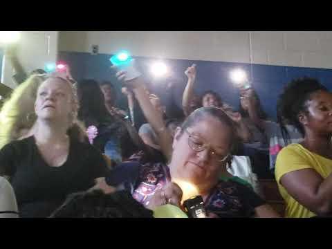 West Hoke Middle School 1st ever Talent show Pt1