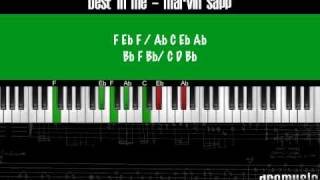 How to play Marvin Sapp - The Best In Me