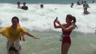 Liburan ke pantai hyundai busan korea selatan