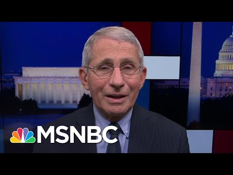 'Science Was Distorted & Rejected': Dr. Fauci On Working With Trump Admin | Rachel Maddow | MSNBC