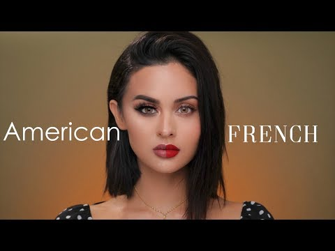 American VS French Makeup Tutorial