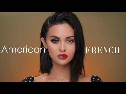 American VS French Makeup Tutorial