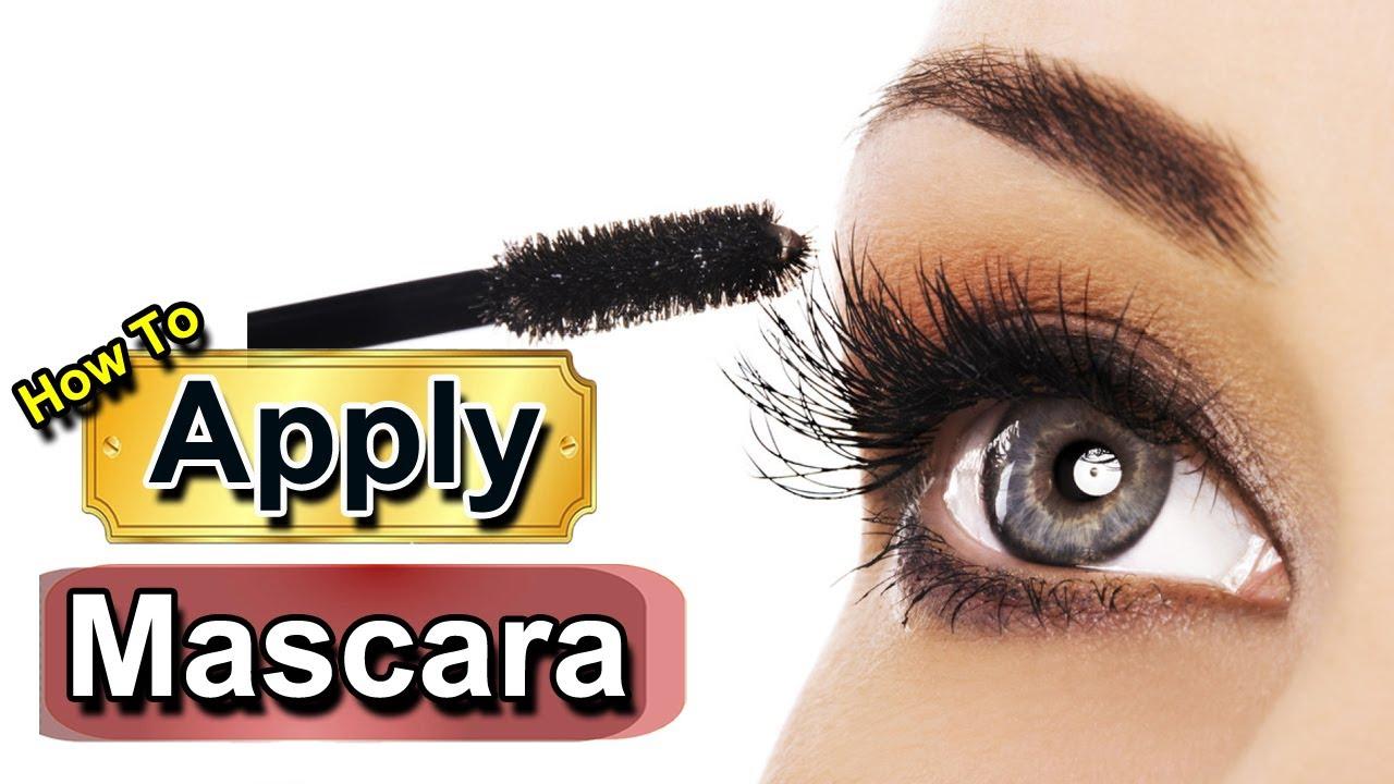 How to Apply Mascara Correctly - 4 Mascara Tips for