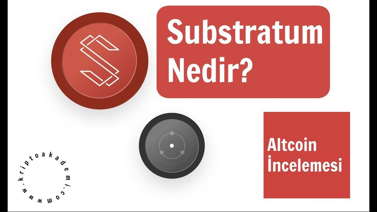 Substratum Nedir?