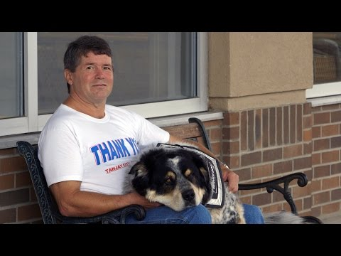 New job a perfect fit for employee – and his dog