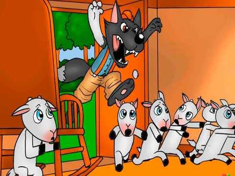 El Lobo Y Los Siete Cabritillos Cuentos Infantiles Para
