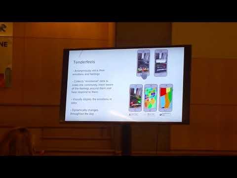 "CitizenAR AAU winning presentation, ""Tender Feels"""