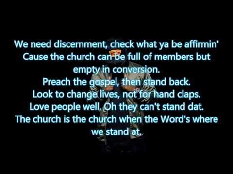 KB Church Clap feat  Lecrae (Lyrics)