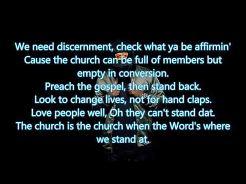 KB Church Clap feat  Lecrae (Lyrics)