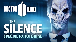The Silence sfx makeup tutorial (Dr. Who cosplay)