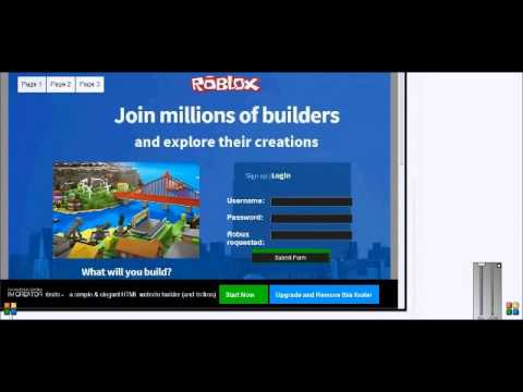 The real way to get free robux on roblox december 2016 youtube the real way to get free robux on roblox december 2016 ccuart Choice Image