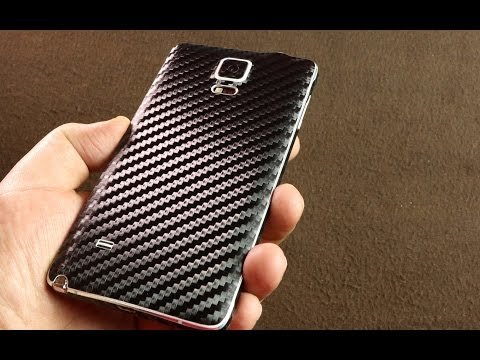 dbrand Skin For Samsung Galaxy Note 4 (Carbon Fiber)