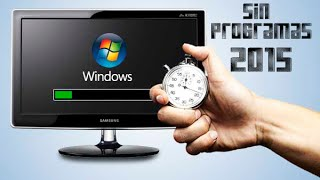 Como Darle Mantenimiento a tu PC | Fácil y Sin Programas 2015 | windows 7, 8 y 8.1