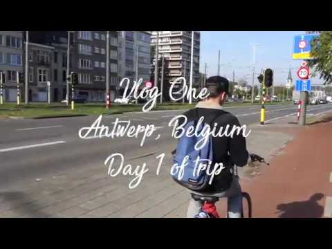 First day in Antwerp | Vlog 1, Day 1