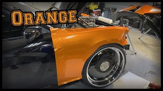 ORANGE SCATPACK CHARGER IN THE LAB