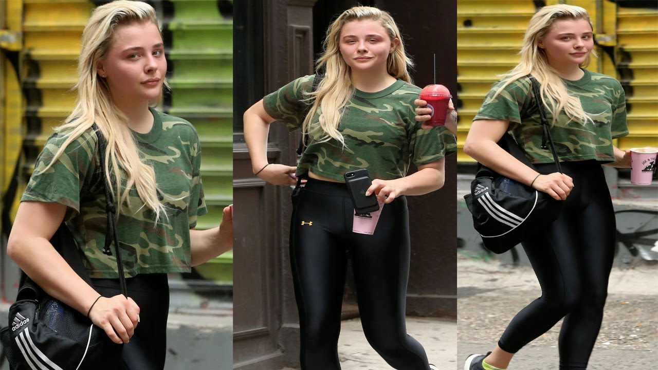 Chloe grace moretz in spandex leaving soul cycle in new york city naked (51 photo), Sexy Celebrites photo