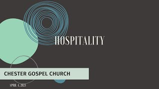 Hospitality and Reaching the Sick