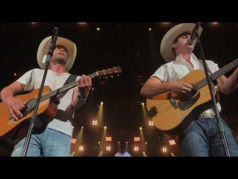 Jon Pardi and Dierks Bentley in West Palm Beach