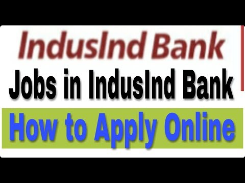 Jobs in Indusind Bank II How to Apply Online II Private bank job (HINDI) II Learn Technical