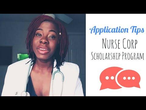 Application Tips : Nurse Corp Scholarship Program (paying for nursing school)