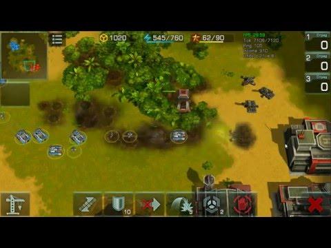Art Of War 3: Global Conflict - test battle #4 for Global Confederation
