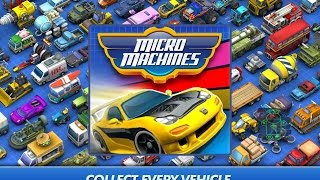 Micro Machines - HD Android Gameplay - Racing games - Full HD Video (1080p)