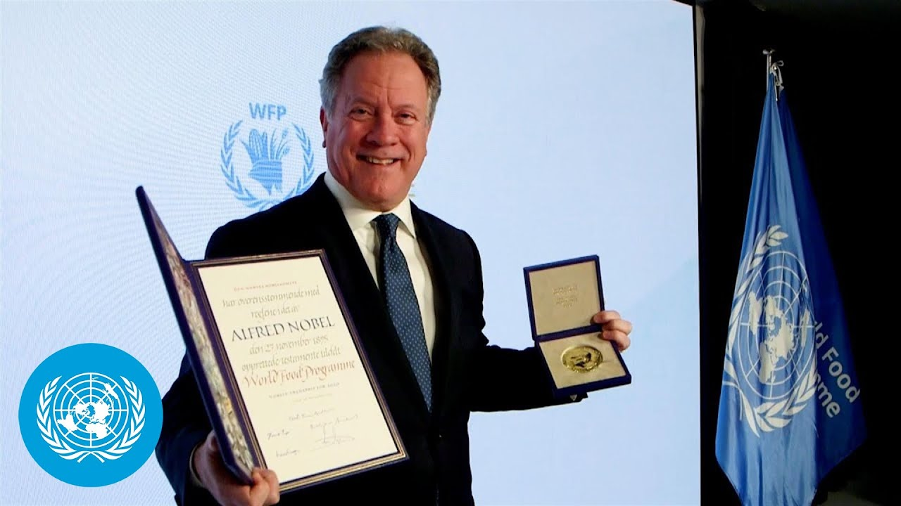 World Food Programme receives the 'People's Prize'