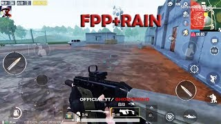 PUBG MOBILE UPDATE 0.10.3 FPP GOOD GAMEPLAY DYNAMIC RAIN