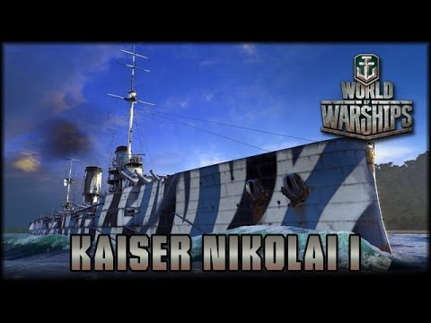 World of Warships - Kaiser Nikolai I - Tier 4 Premium  [ deutsch | gameplay ]