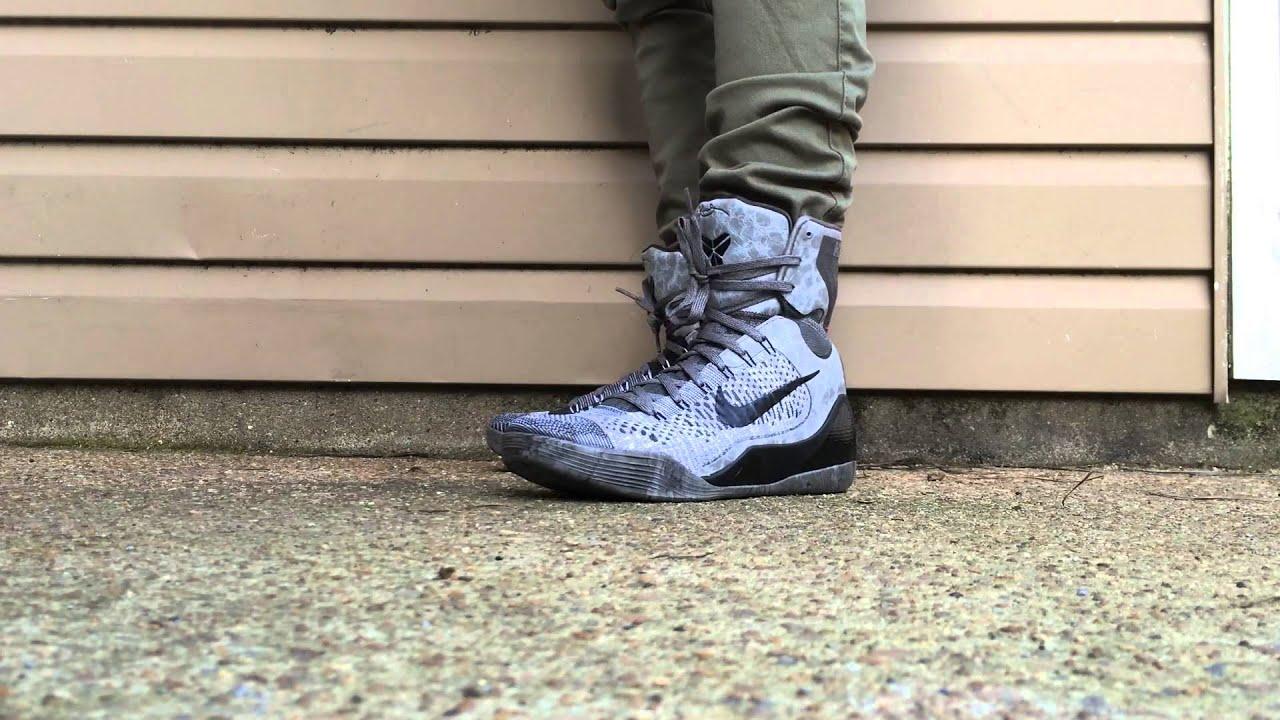 ON FOOT LOOK: Kobe 9 Detail - YouTube