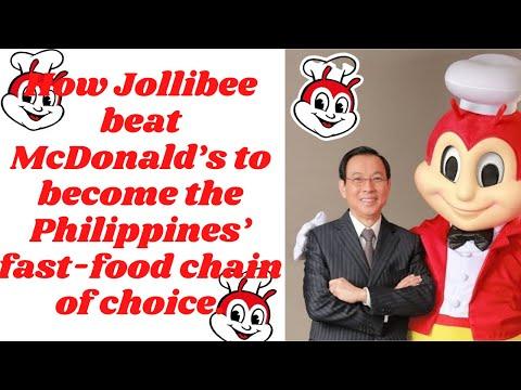How Jollibee beat McDonald's? | JOLIBEE | MCDO|
