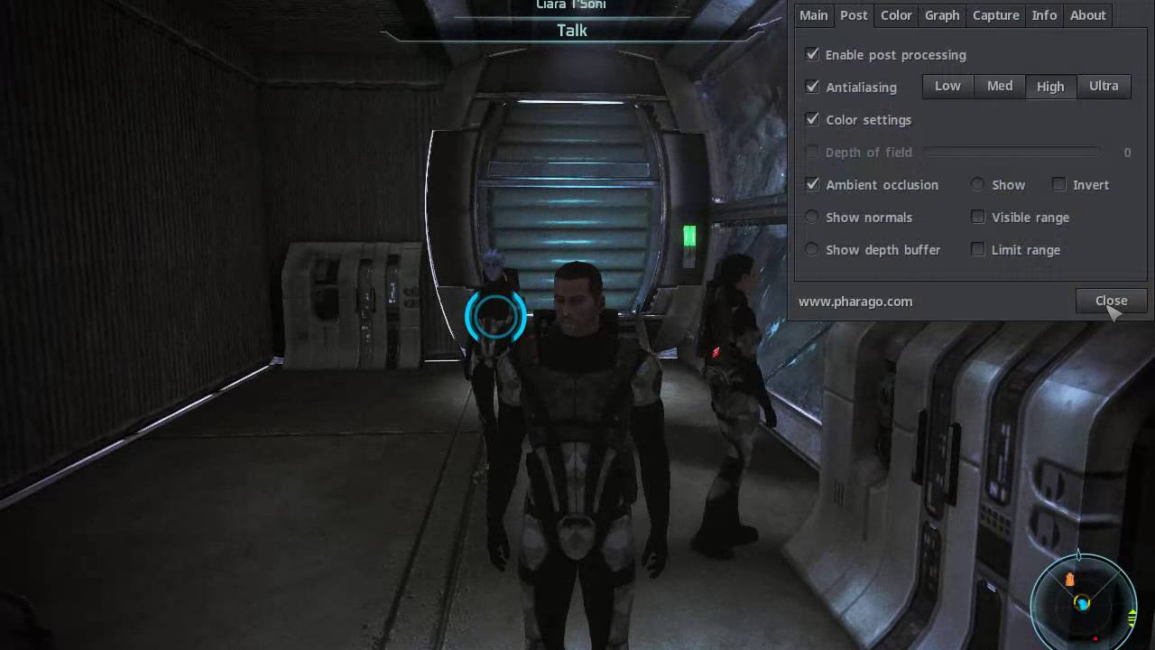 FPS Counter And Post Processing Effects at Mass Effect Nexus