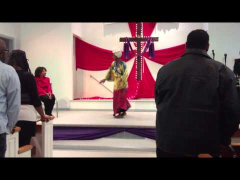 """""""Jehovah Knows"""" by Ron Kenoly danced by Christina Noble at Dunamis Ministries anniversary"""