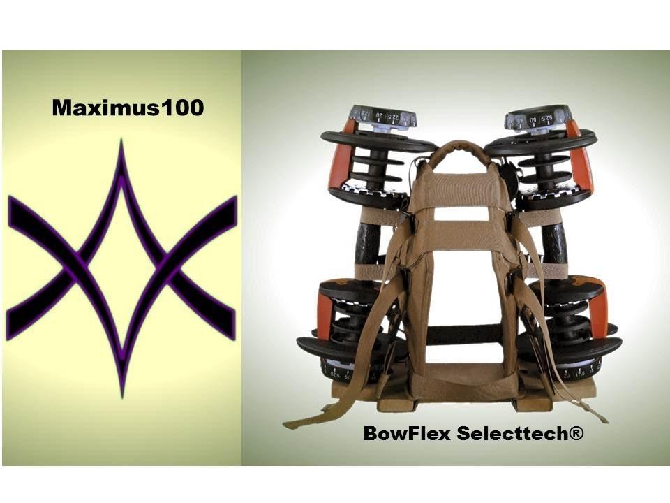 BowFlex Selecttech & Maximus100 Glutes Workout