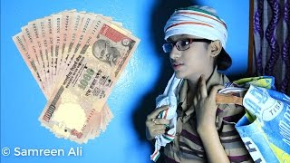 After 500 and 1000 Rupees Note Ban | Samreen Comedy |