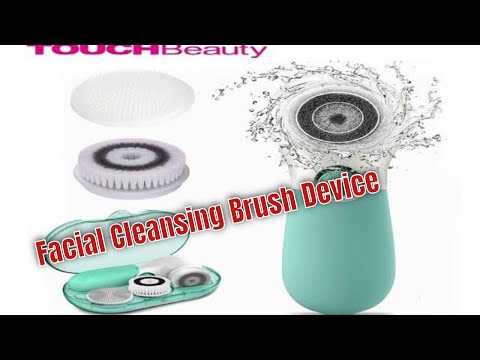 How to use facial cleansing brush set - Ultimate skin spa replacement brush heads