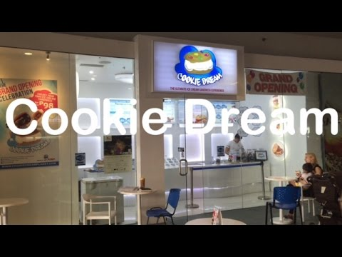 Cookie Dream Ice Cream Sandwich SM Mall of Asia Pasay City by HourPhilippines.com