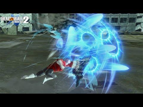 Official Ultra Instinct Goku Dodges - DragonBall Xenoverse 2